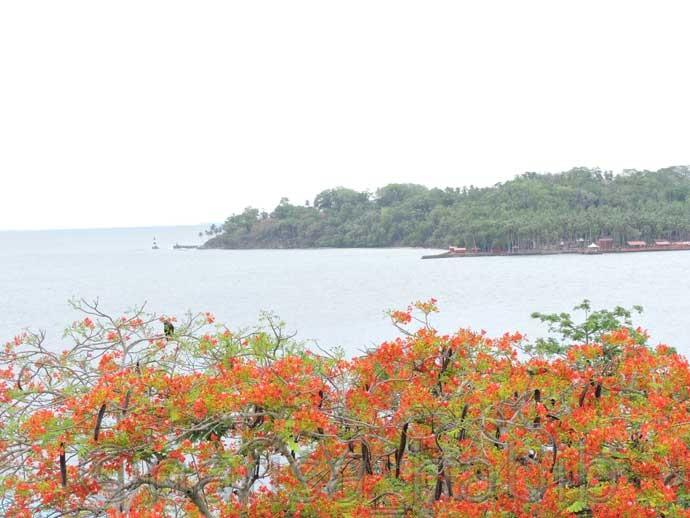 Ross Island in Port Blair