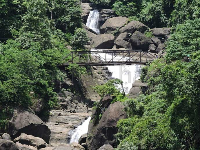 Borhill Waterfall at Panthumai