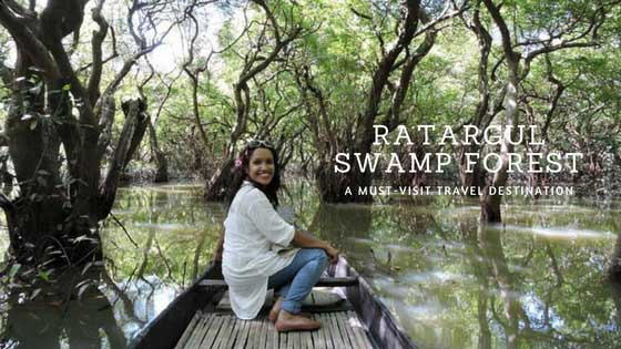 Most Beautiful Ratargul Swamp Forest in Sylhet, Bangladesh