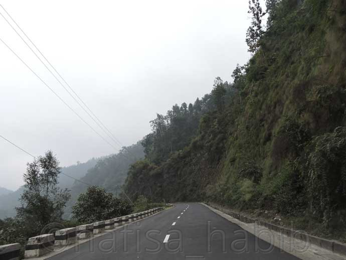 adventurous road to pokhara