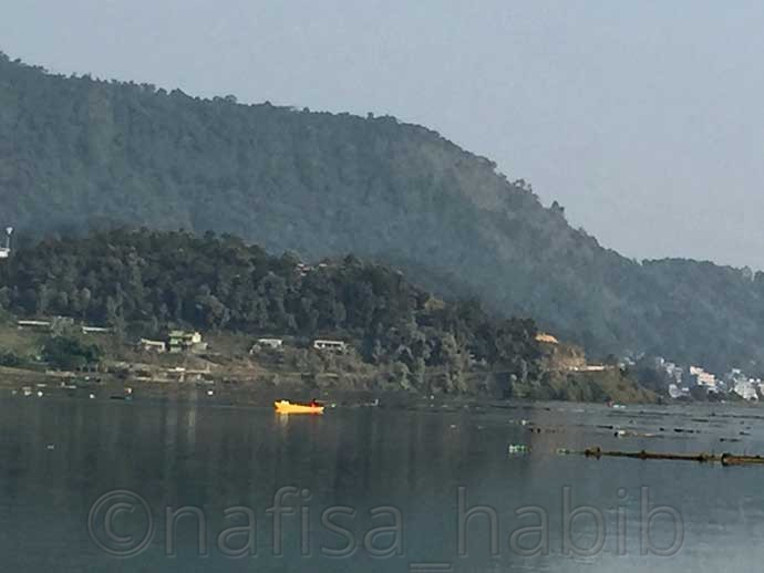 Boating on Fewa Lake - Popular Tourist Destination Pokhara in Nepal (Top Things To Do & See)