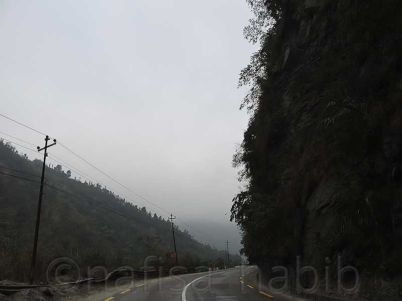 Long Drive on Adventurous Road in Nepal