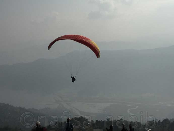 Paragliding in Pokhara - 10 Best Places in Nepal to Photograph