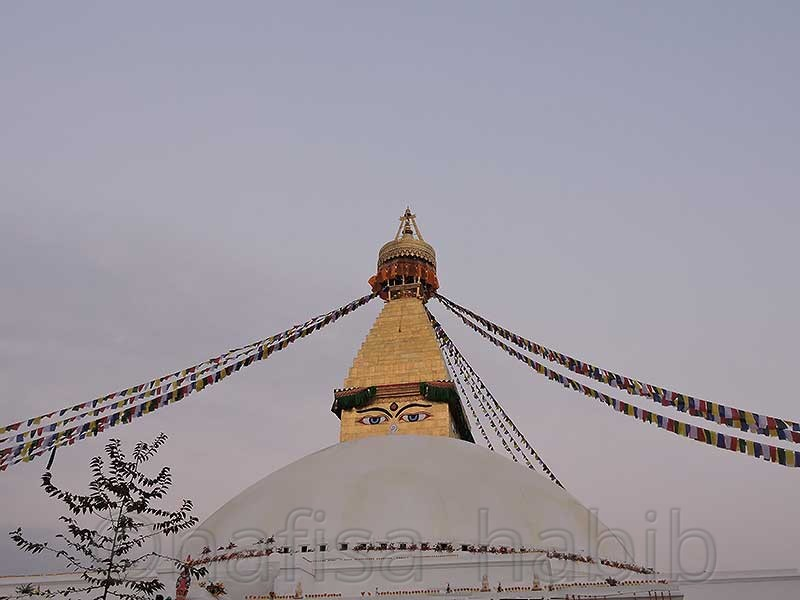 The Largest Stupa of Boudhanath