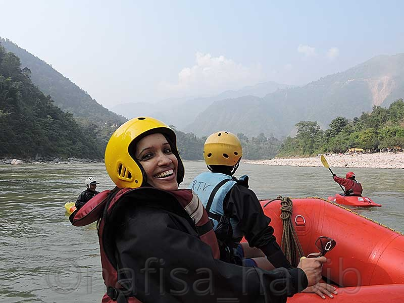 White Water Rafting on Trishuli River