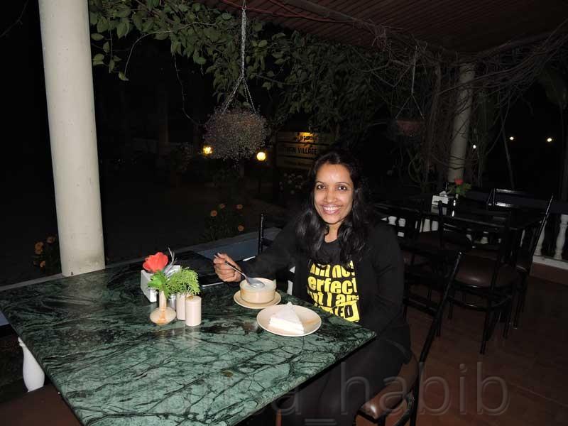 Dinner at Chitwan Village Resort
