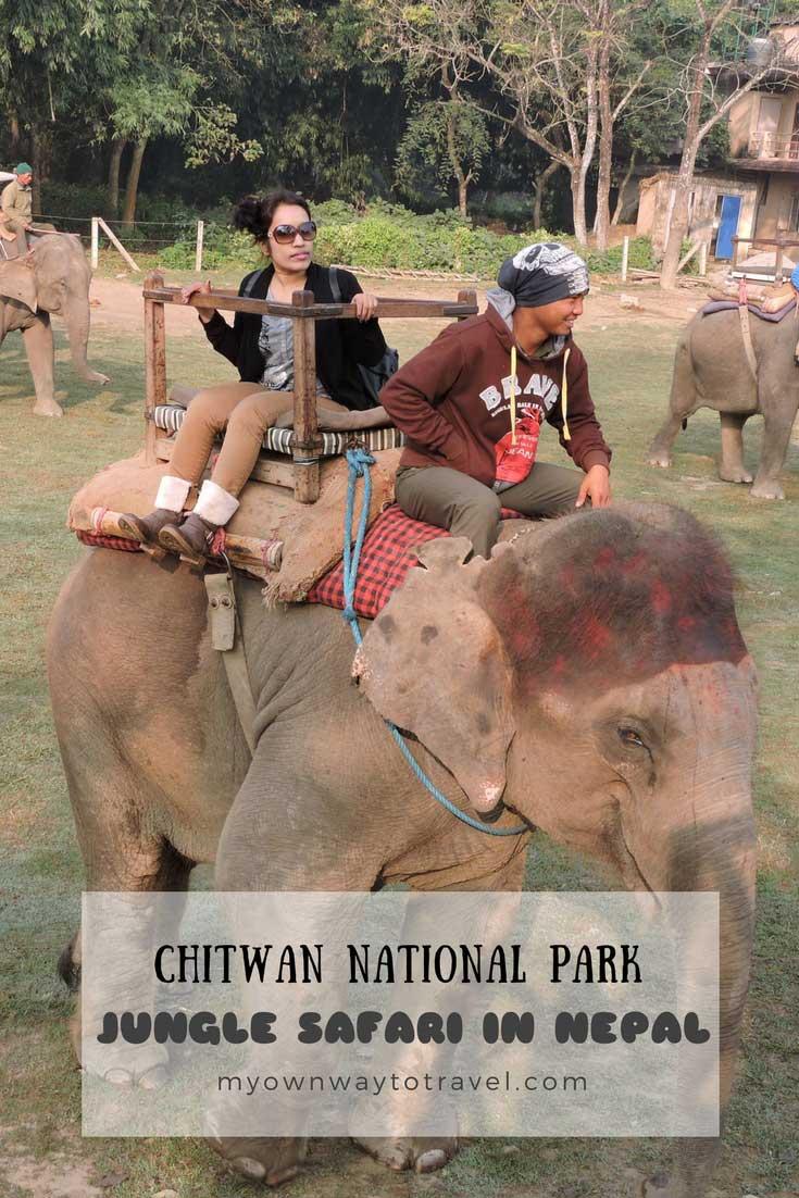 Jungle Safari at Chitwan National Park in Nepal