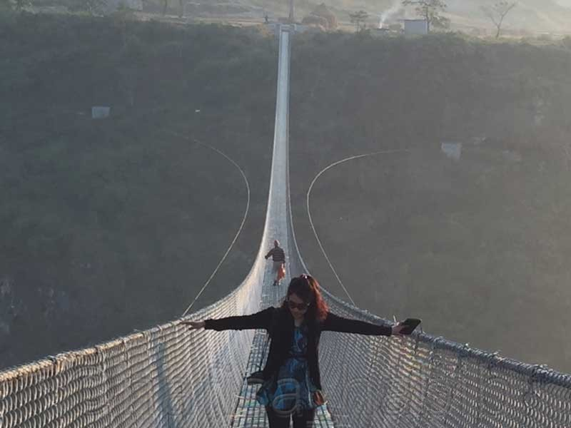 Kushma Gyadi Suspension Bridge in Nepal - 10 Best Places in Nepal to Photograph