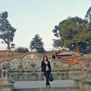 Cultural World Heritage Site Pashupatinath Temple in Kathmandu