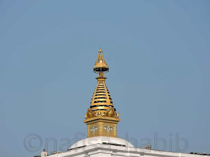The Stupa of Maya Devi Temple at Lumbini