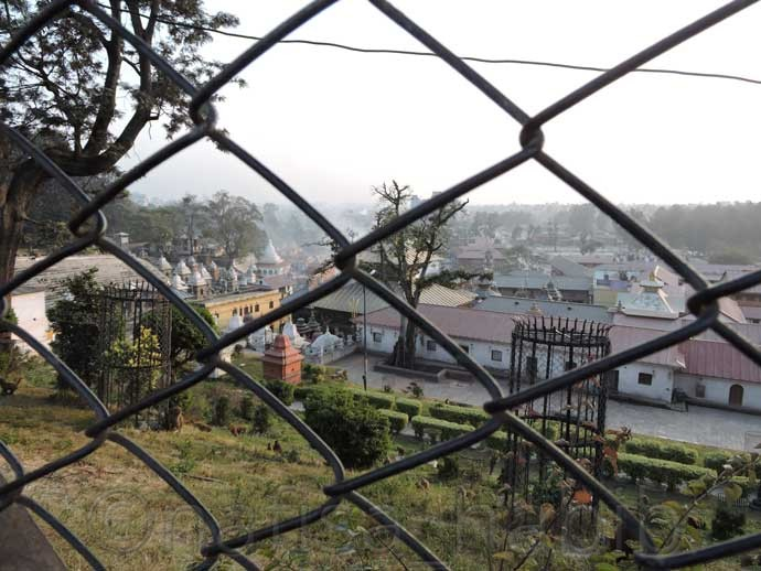 Remote View of Pashupatinath Temple