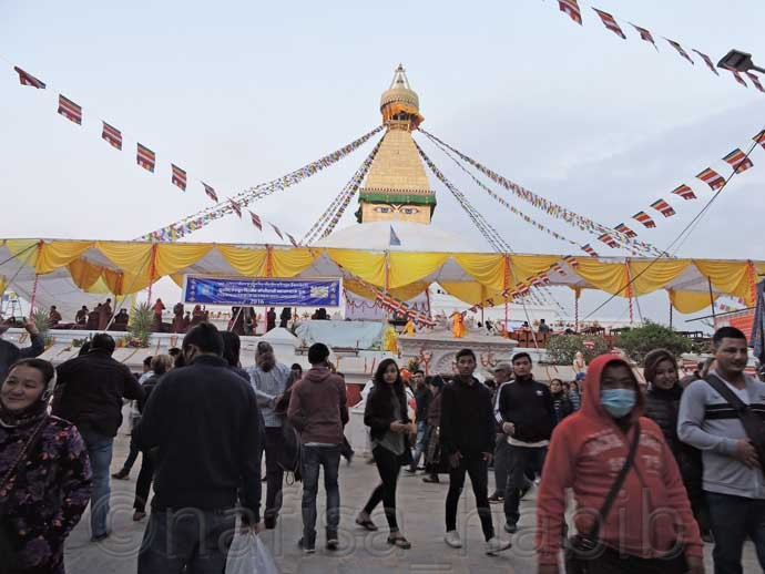 UNESCO World Heritage Site Boudhanath Stupa