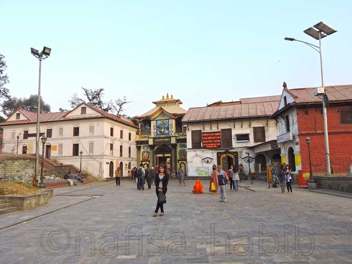 Western Entrance of Pashupatinath Temple