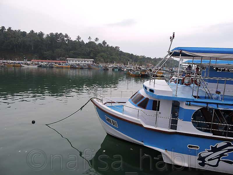 Mirissa Fisheries Harbour in Sri Lanka