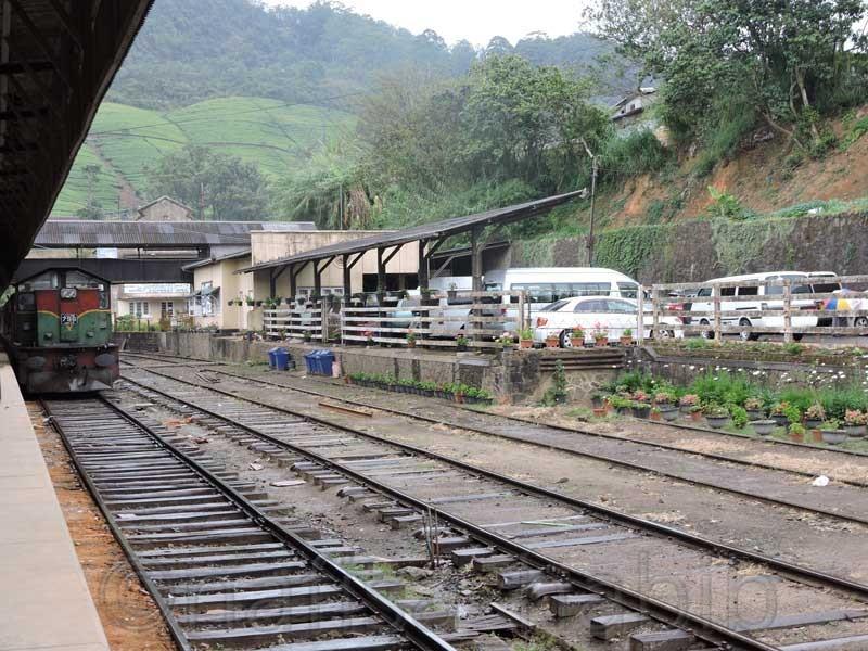 Nanuoya Railway Station in Nanu Oya