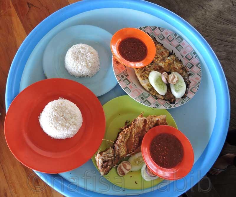 Balinese Food Ikan Bakar