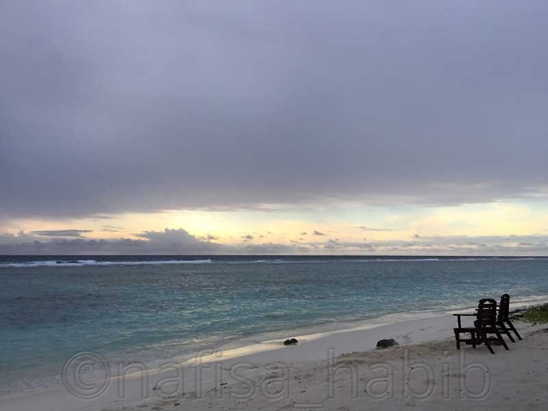 Morning sunrise in the Hulhumale Island - 10 Photos To Inspire You To Visit The Maldives