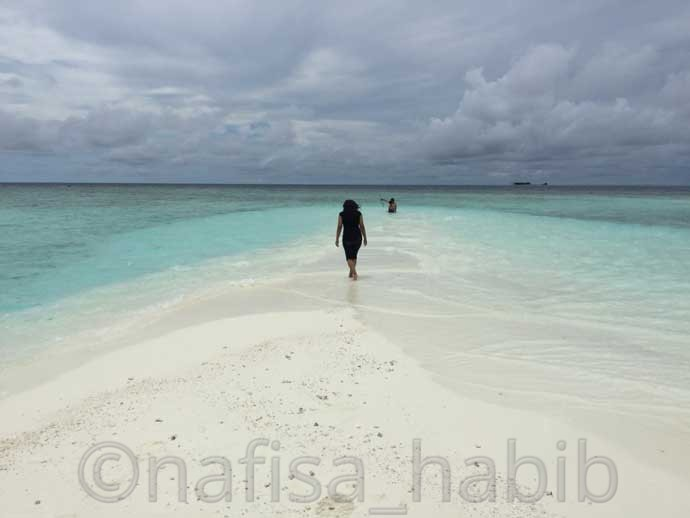 Sandbank in the Maldives