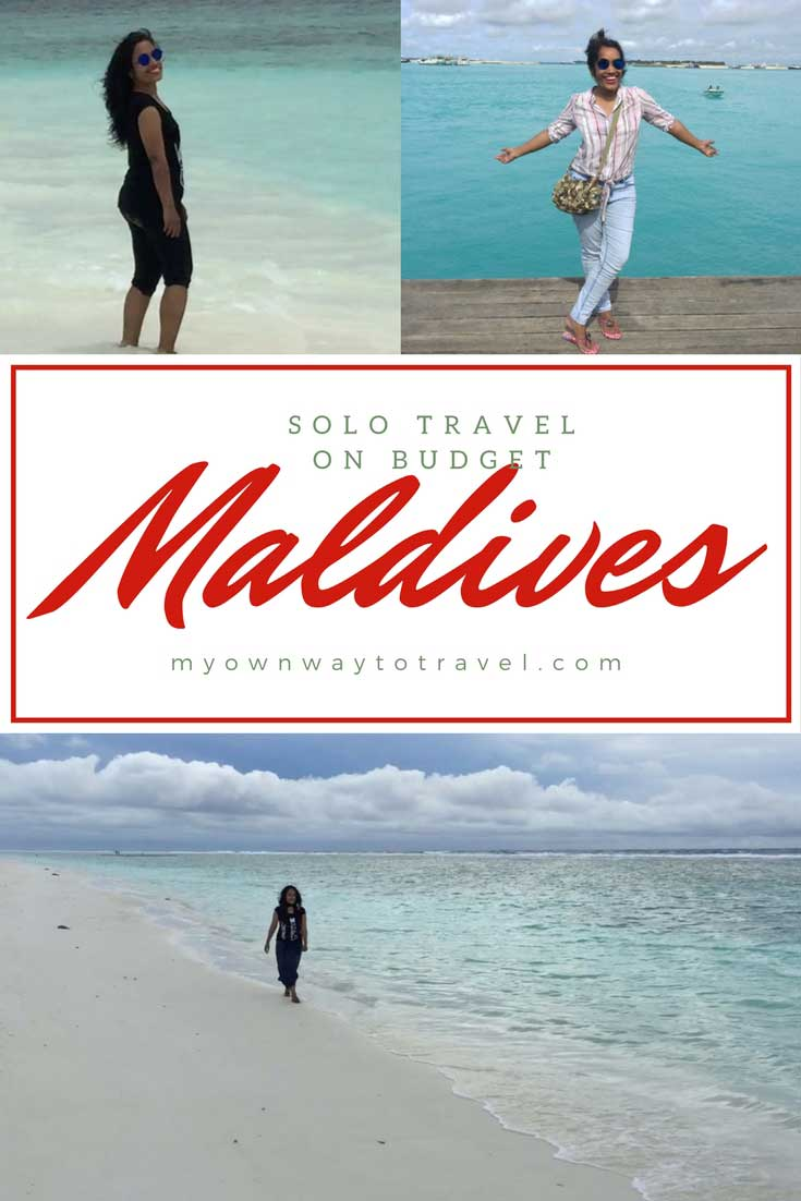 Solo Trip To The Maldives On a Budget
