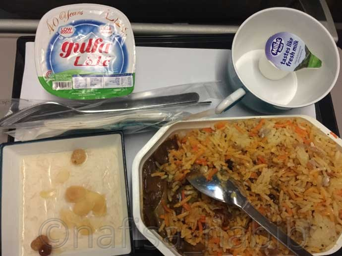 SriLankan Airlines Food