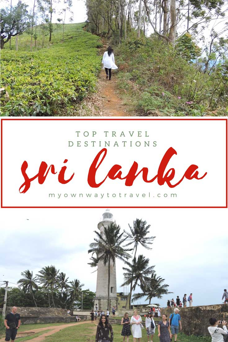 6 Top Travel Destinations in Sri Lanka To Explore