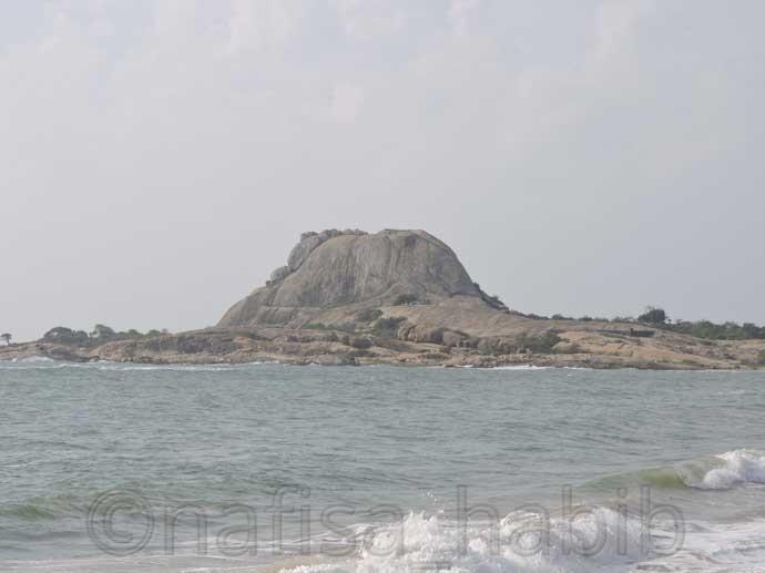 Elephant Rock at Yala National Park
