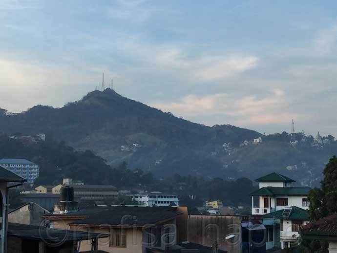 Hanthana Hill in Kandy