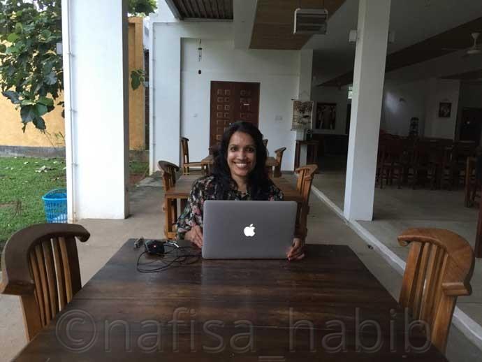 Happy Upworking Moment at Neem Villas Hotel - Three Hours Jeep Safari Tour at Yala National Park in Sri Lanka