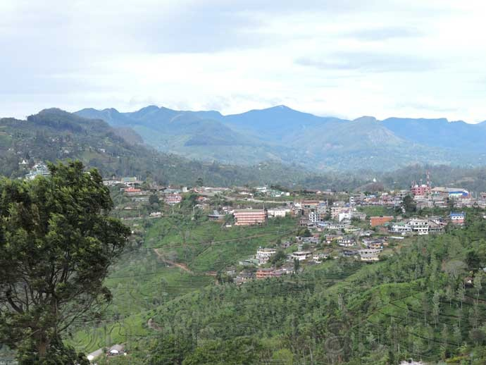 Haputale Hill Station in Sri Lanka