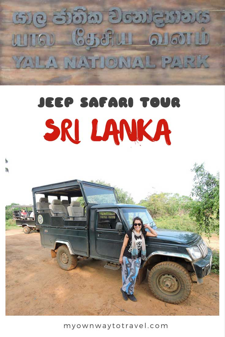 Three Hours Jeep Safari Tour at Yala National Park in Sri Lanka