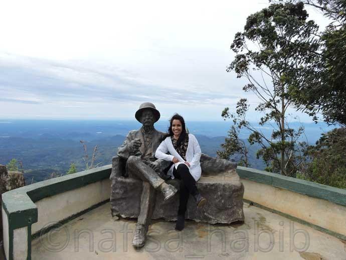Famous Viewpoint Lipton's Seat in Haputale Sri Lanka