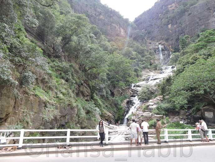 Ravana Falls in Ella