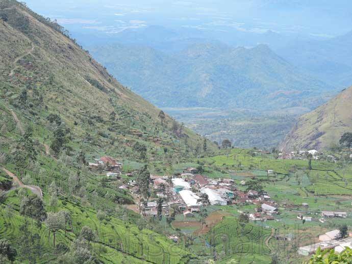 Scenic Natural Beauty in Dambatenne