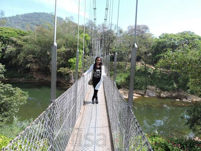 Suspension bridge at Royal Botanic Gardens - 6 Top Travel Destinations In Sri Lanka To Explore