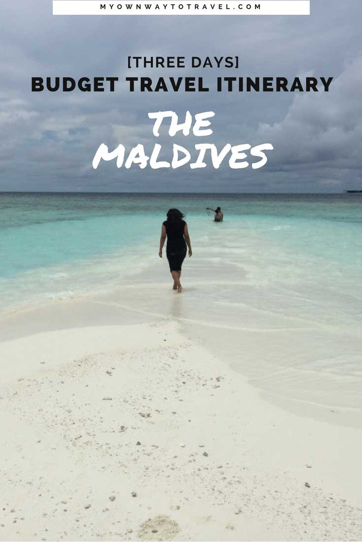 The Maldives Budget Travel Itinerary