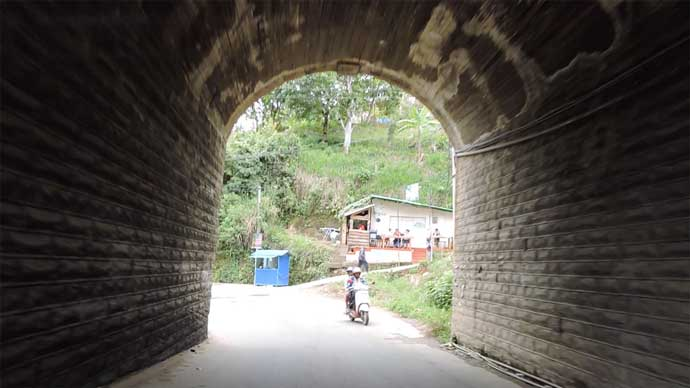 Tunnel in Ella Hill Station