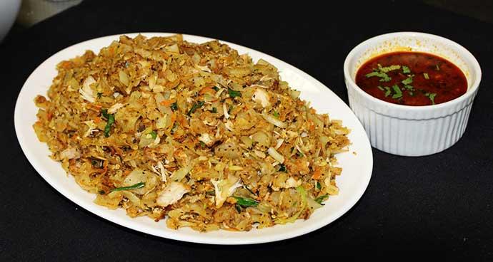 Sri Lankan Food Kottu Roti