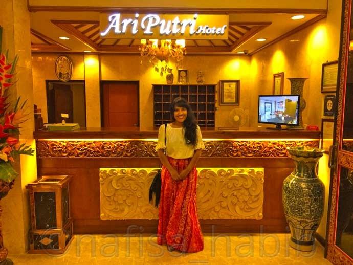 Ari Putri Hotel in Sanur, Bali