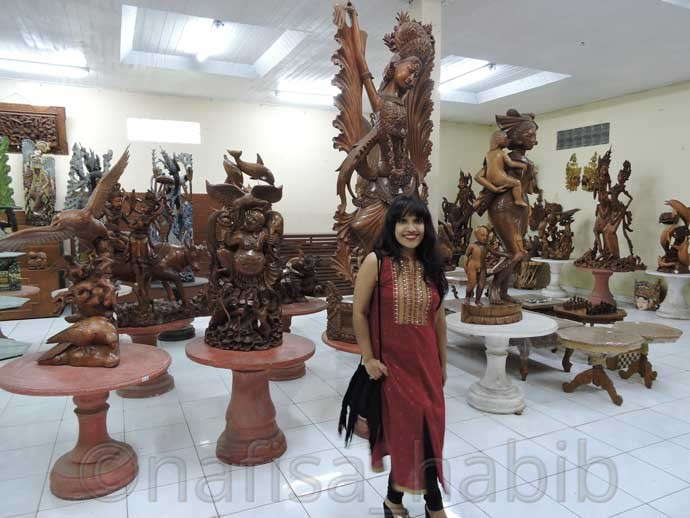 Balinese Artwork at SW Agro