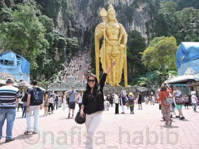 Batu Caves in Kuala Lumpur Malaysia