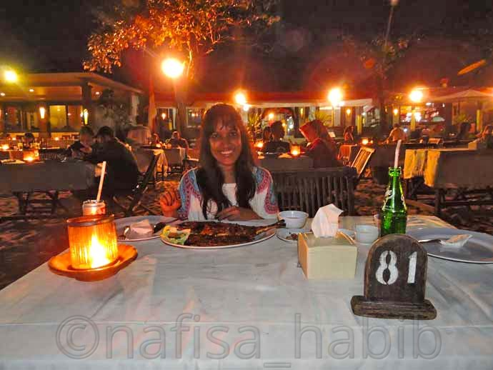 Blue Marlin Cafe at Jimbaran Beach