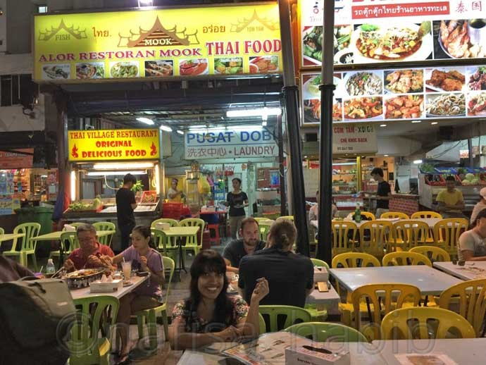 Jalan Alor Food Street Tour