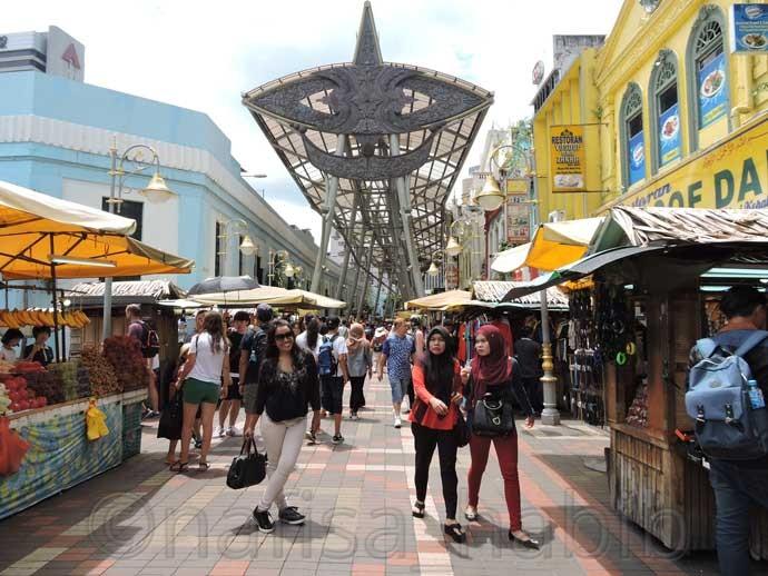 Kasturi Walk Flea Market - Central Market, Kuala Lumpur, Malaysia