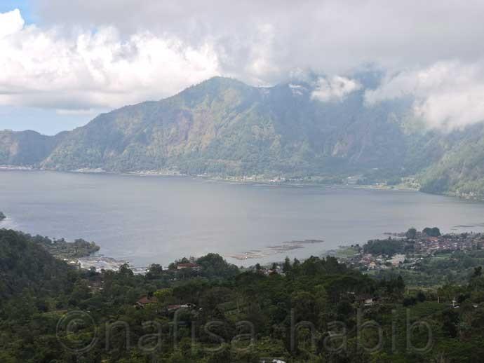 Lake Batur in Bali