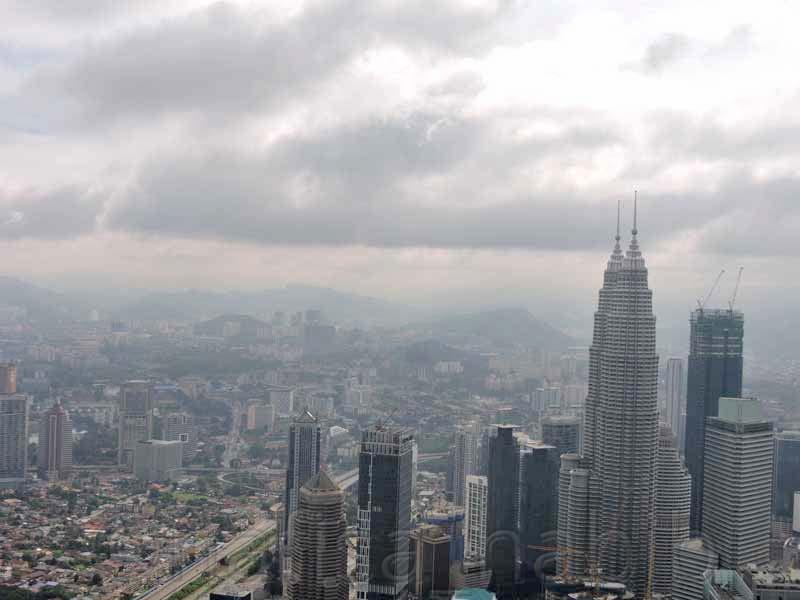 Panoramic View of Kuala Lumpur City