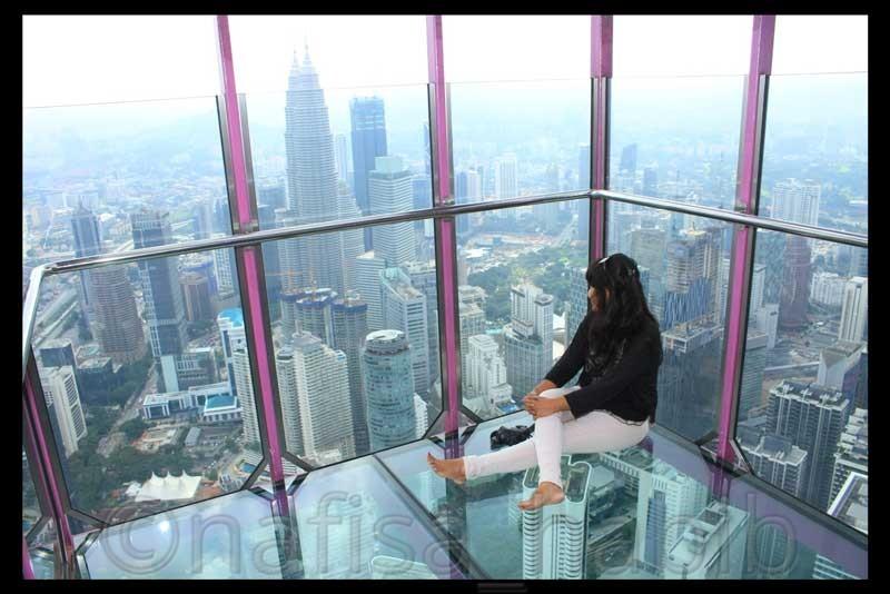 Petronas Twin Towers from Menara Kuala Lumpur