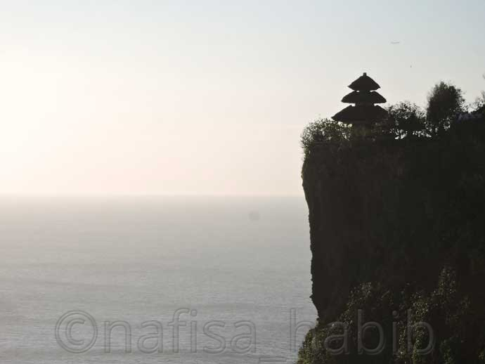 Rock Cliff Sea Temple Uluwatu