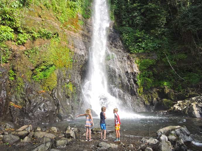 Gitgit Waterfall in North Bali