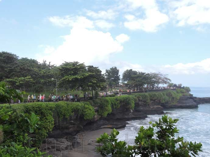 Landscape of Tanah Lot