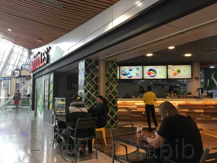 Nööödles Restaurant - 6 Tips To Spend 12-Hour Layover At Kuala Lumpur International Airport